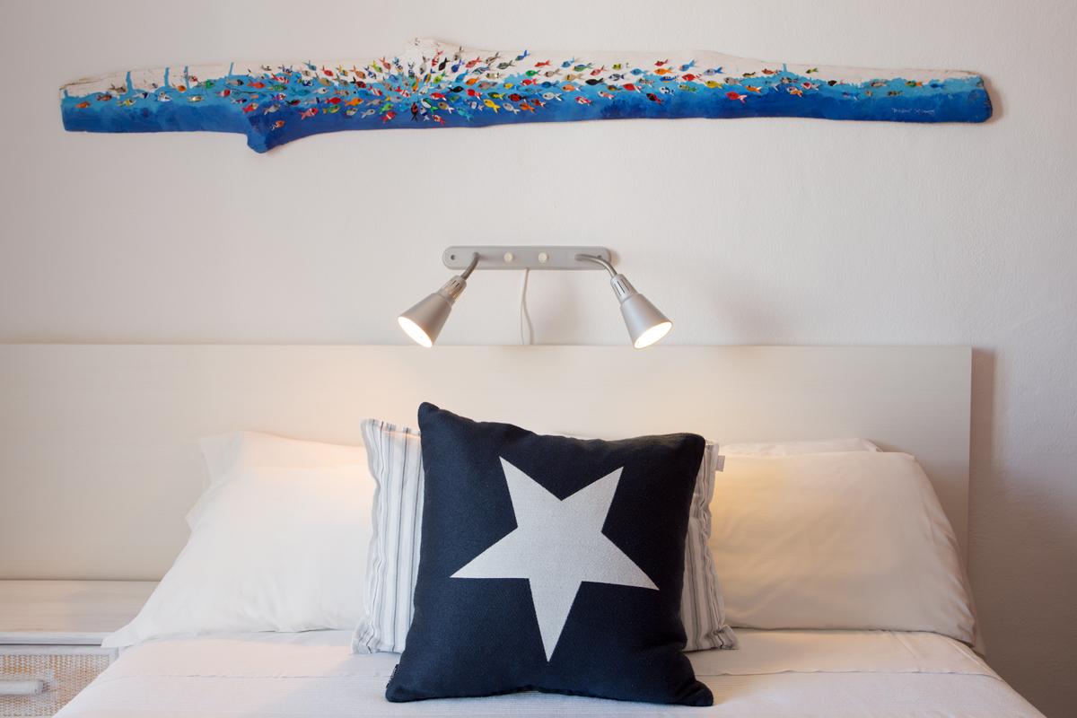 Alojamiento barato en formentera hostal mar blau for Dormir en formentera